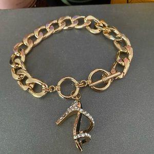 Acentrix/Women's/NWT/Gold/Bracelet/Shoe Charm